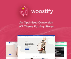 Woostify – Optimized Conversion WordPress Theme for Any Stores