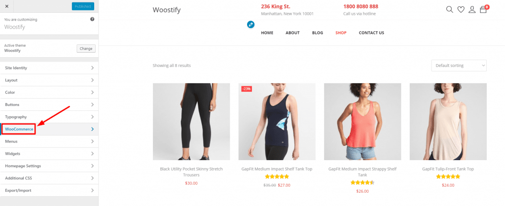 Sticky Add to cart button - Woostify – Fast & Free WooCommerce
